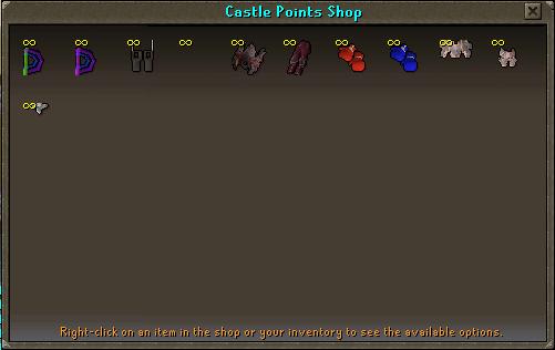 Shop Castle Wars