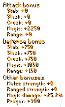 Crystal Set Stats