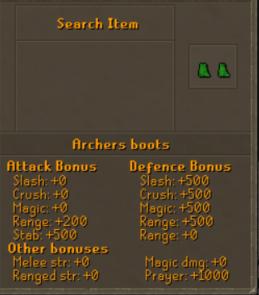 Archers Boots 1