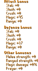 Dragonbone Mage Set Stats