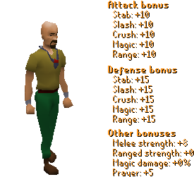 Amulet of Fury Stats