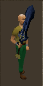 Sword Of Pros Equipped