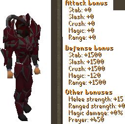 Prime Torva Set Stats