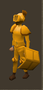 Gilded Set Equiped