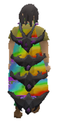 Tribrid Infernal Cape Equipped