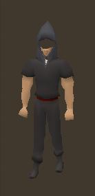 Grim Reaper Hood Equiped