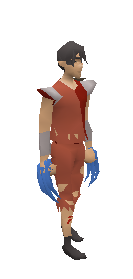 Dragon Claws (blue) Equiped
