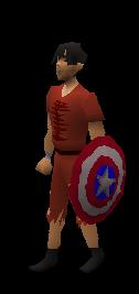 Captain America Shield Equiped