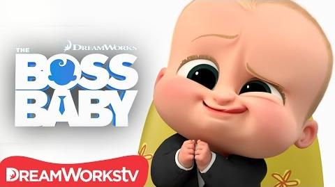 Boss Baby Talks Cute Face THE BOSS BABY