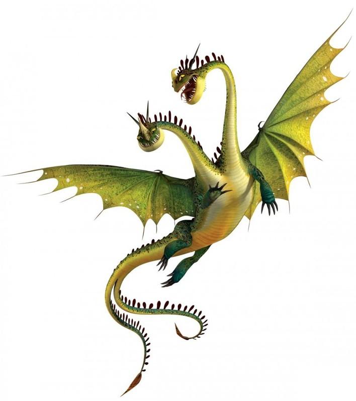 Hideous Zippleback Dreamworks Dragons Wiki Fandom Powered By Wikia