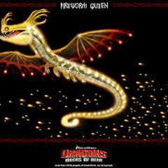 fire worm queen