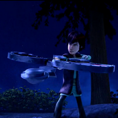 Hiccup's new shield.
