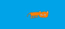 Alan, an orange tabby cat