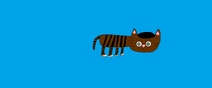 Toby, a domestic short hair brown tabby cat