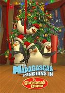 Madagascar penguins christmas poster