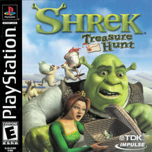 Shrek Treasure Hunt for Sony PlayStation One
