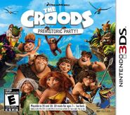 The Croods Prehistoric Party for Nintendo 3DS