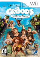 The Croods Prehistoric Party for Nintendo Wii
