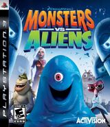 Monsters Vs Aliens for Sony PlayStation 3