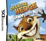 Over The Hedge Hammy Goes Nuts for Nintendo DS