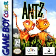 Antz for Nintendo Gameboy Colour