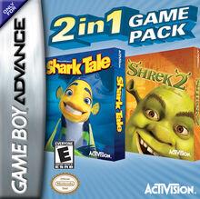 Shrek 2 & Shark Tale Double Pak for Nintendo Gameboy Advance