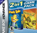 2 In 1 Games: Shrek 2 & Shark Tale