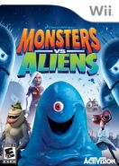 Monsters Vs Aliens for Nintendo Wii