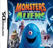 Monsters Vs Aliens for Nintendo DS