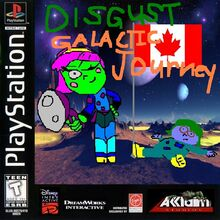Disgust Galactic Journey for Sony PlayStation One