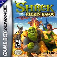Shrek Reekin Havoc for Nintendo Gameboy Advance