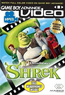 GBA Video Shrek for Nintendo Gameboy Advance
