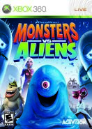 Monsters Vs Aliens for Microsoft XBOX 360