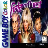 Galaxy Quest for Nintendo Gameboy Colour