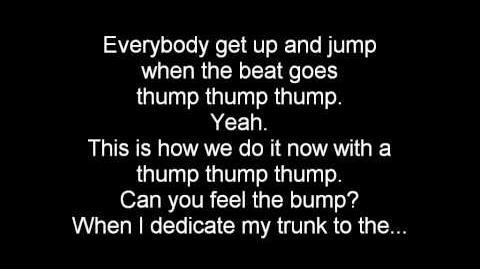 (English) The Penguins of Madagascar - Thump Thump Thump Lyrics
