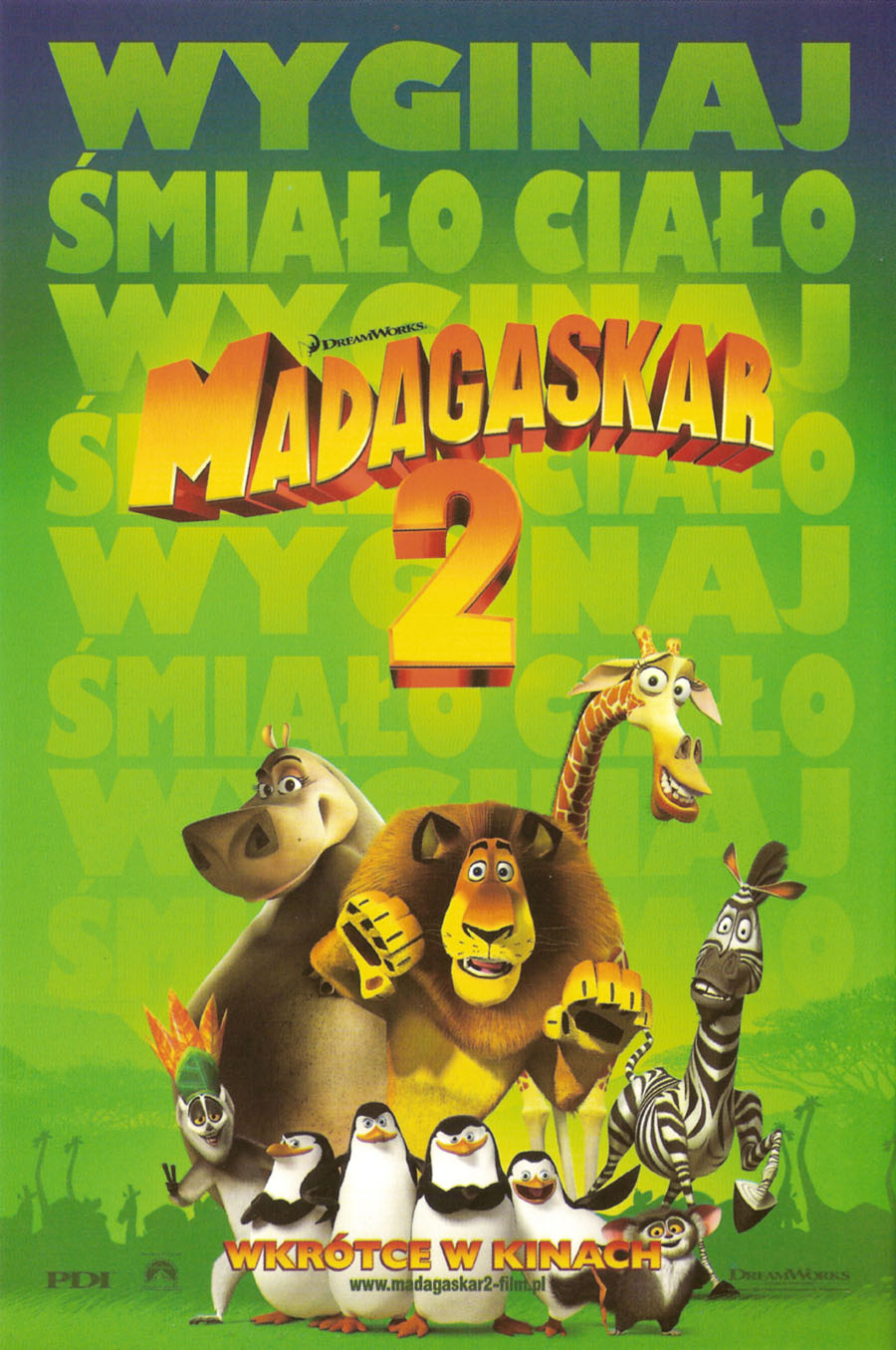 Madagaskar 2 Dreamworks Polska Wiki Fandom Powered By Wikia