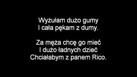 (Polish) Penguins of Madagascar - Freak-o for Rico Lyrics