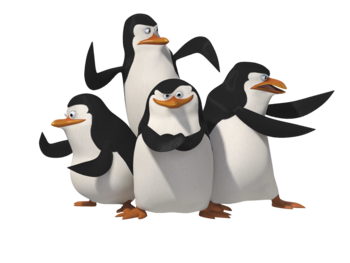 Madagascar penguins PNG67
