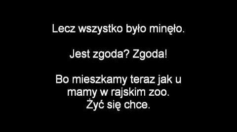 (Polish) Penguins of Madagascar - The Happy Land of Hoboken Lyrics