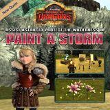 Paint a storm