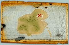 Hobblegrunt Island old map