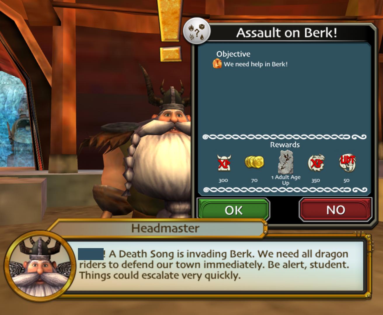 Assault on Berk!   Dreamworks School of Dragons Wiki   Fandom
