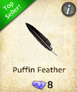 Puffin Feather