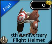 Anniversary helmet