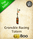 Gronckle Racing Totem