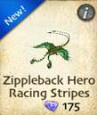 Zippleback Hero Racing Stripes
