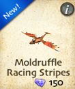 Moldruffle Racing Stripes