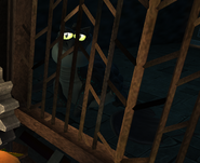 Levi caged
