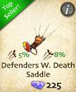 Defenders Whispering Death Saddle