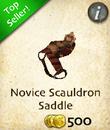 Novice Scauldron Saddle